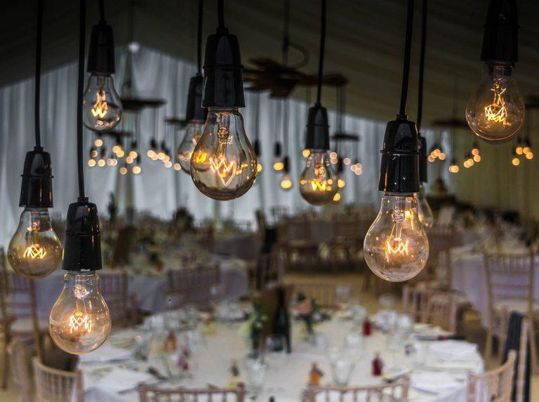éclairage mariage